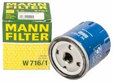 Масляный фильтр MANNFILTER W716/1