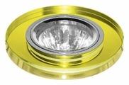 Встраиваемый светильник ESCADA ASTI GU5.3 001 CH/YL