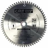 Круг пильный твердосплавный CMT 292.216.64M 216X30X2.8/1.8 -5° 15° ATB Z=64