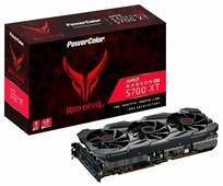 Видеокарта PowerColor Red Devil Radeon RX 5700 XT 1770Mhz PCI-E 4.0 8192Mb 14000Mhz 256-bit HDMI 3xDisplayPort HDCP OC