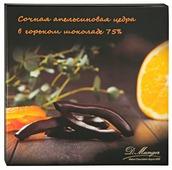 Цукаты цедры апельсина D.Munger в глазури из горького шоколада, 75% какао