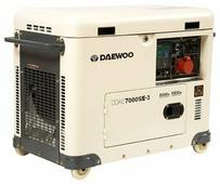 Дизельный генератор Daewoo Power Products DDAE 7000 SE-3 (5500 Вт)