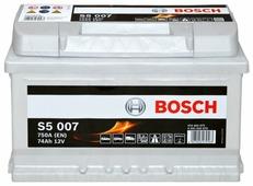 Автомобильный аккумулятор Bosch S5 007 (0 092 S50 070)
