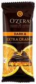 Шоколад O'Zera Dark and extra orange горький с кусочками апельсина