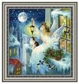 Золотое Руно Набор для вышивания Зимняя фея 42,2 х 38,7 см (СО-012)