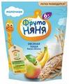 Каша ФрутоНяня молочная овсяная с яблоком и бананом (с 6 месяцев) 200 г