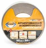 Клейкая лента алюминиевая Aviora 302-047, 50 мм x 50 м