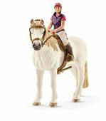 Фигурка Schleich Наездница с лошадью 42359