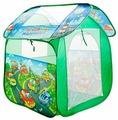Палатка Играем вместе Веселые машинки домик в сумке GFA-AUTO-R
