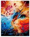 "ВанГогВоМне Картина по номерам ""Кот в абстракции"", 40х50 см (ZX 20135)"