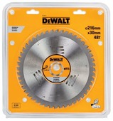 Круг пильный твердосплавный DEWALT DT1914-QZ Ф216/30 48 TCG -5° EXTREME по алюминию