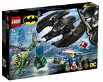 Конструктор LEGO DC Super Heroes 76120 Бэткрыло Бэтмена и ограбление Загадочника
