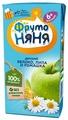 Напиток ФрутоНяня из яблок с экстрактами ромашки и липы, c 6 месяцев