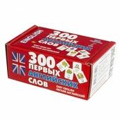 Набор карточек АСТ 300 первых английских слов 6.2x4.5 см 300 шт.