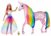 Набор Barbie и Радужный единорог, FXT26