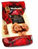 Печенье Walkers Mini с Бельгийским шоколадом, 125 г