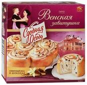 Черемушки Пирог Венская завитушка сливочный мусс и шоколад
