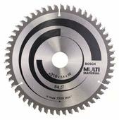 Пильный диск BOSCH Multi Material 2608640511 210х30 мм
