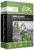 Бумага A6 50 шт. S'OK Semi Glossy 260 г/м2