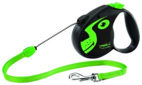 Поводок-рулетка для собак Triol Colour Dog S тросовый
