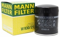 Масляный фильтр Mann-Filter W930/21