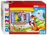 Пазл Рыжий кот Artpuzzle Заюшкина избушка (ПА-4543), 104 дет.