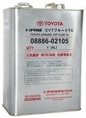 Масло трансмиссионное TOYOTA CVT Fluid TC 4 л (08886-02105)