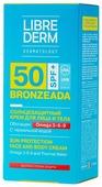 Librederm Bronzeada солнцезащитный крем для лица и тела Omega 3-6-9 SPF 50