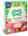 Myllyn Paras Био-Био Каша овсяная с клубникой и молоком, порционная (5 пакетиков)