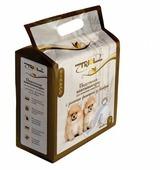 Пеленки для собак впитывающие Triol с угольным фильтром из бамбука 30551008 60х60 см