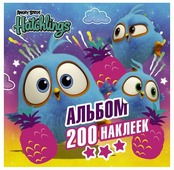 АСТ Альбом наклеек Angry Birds Hatchlings