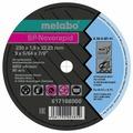 Диск отрезной 150x1x22.23 Metabo SP-Novorapid INOX