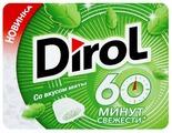 Жевательная резинка Dirol Cadbury мята 60 минут свежести 16 г