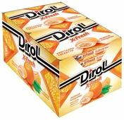 Жевательная резинка Dirol Cadbury X-Fresh Ледяной мандарин, без сахара, 12 шт.*16 г