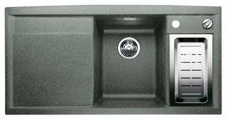 Врезная кухонная мойка Blanco Axia II 6S Silgranit PuraDur (чаша справа) 100х51см искусственный гранит