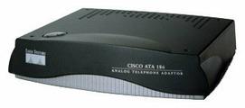 Адаптер для VoIP-телефонии Cisco ATA 186