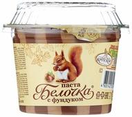 Славянка Паста шоколадно-ореховая Белочка с добавлением какао и фундука