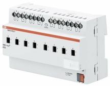 SA/S 8.10.2.1 Бинарный выход 8-канальный, с ручным управлением, 10А, MDRC ABB, 2CDG110157R0011