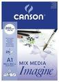 Альбом Canson Imagine 84.1 х 59.4 см (A1), 200 г/м², 25 л.