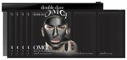 Double Dare OMG! Man in Black Трехкомпонентный комплекс мужских масок «Смягчение и Восстановление» 5 шт
