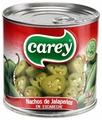Халапеньо Зелёный резанный колечками Carey жестяная банка 198 г