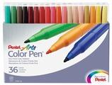 Pentel Набор фломастеров Color Pen, 36 шт. (S360-36)