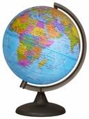 Глобус физико-политический Глобусный мир Двойная карта 250 мм (10546)