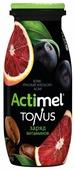 Кисломолочный напиток Actimel Tonus асаи-красный апельсин-кофе 100 г