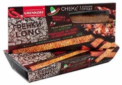 ГРЕНКОВЪ Гренки LONG ржано-пшеничные со вкусом ребрышек на гриле по-мексикански, 100 г