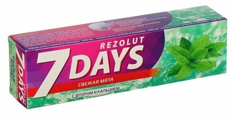 Зубная паста D.I.E.S. 7 Days Свежая мята
