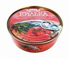 Пролив Консервы Килька балтийская обжаренная в томатном соусе с чили, 240 г