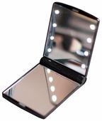 Зеркало косметическое карманное GESS uLike Compact с подсветкой
