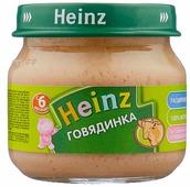 Пюре Heinz Говядинка (с 6 месяцев) 80 г, 1 шт