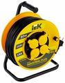 IEK Удлинитель на катушке 4х50м с заземл. 16А IP44 УК50 Industrial plus с термозащ. 3х1.5